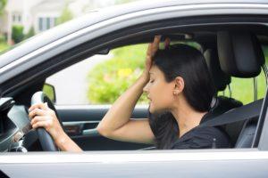 Com evitar marejos a la carretera