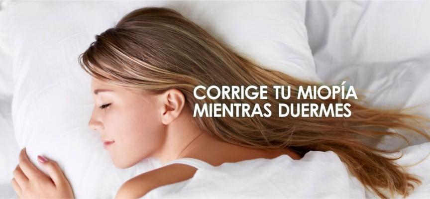 corregir la miopia mientras duermes