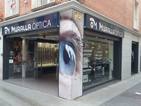optica muralla Lloret de Mar